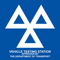 Vehicle Testing Station Approved By The Department Of Transport - MOT