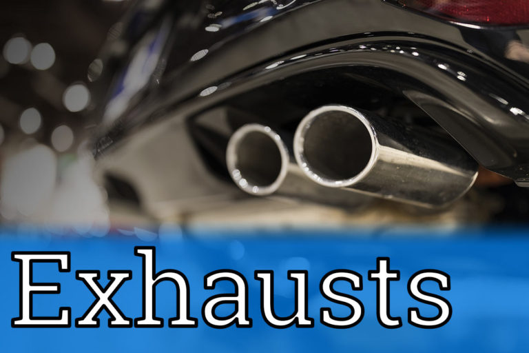 Exhaust pipe repair and replacement